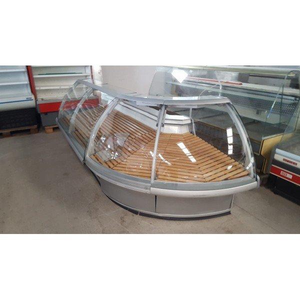 Arneg Sydney, dry cornering desk Refrigerated counter